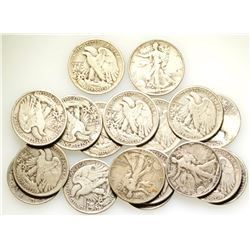 Walking Liberty Half Dollar Group