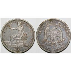 1877-CC Trade Dollar