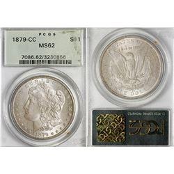 1879-CC Morgan Dollar in MS62