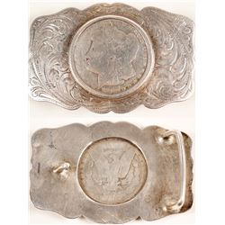 1882-CC Sterling Belt Buckle