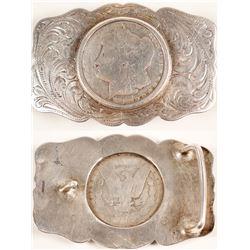 1882-CC Sterling Belt Buckle
