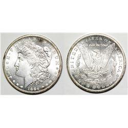1884 Carson City Morgan Dollar
