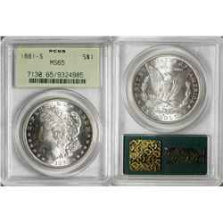 Morgan Dollar 1881-S