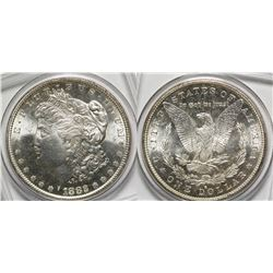 Gem BU Morgan Dollar 1882-S
