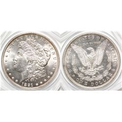 1891 Gem BU Morgan Dollar