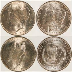 Binion/Fitzgerald Silver Dollars