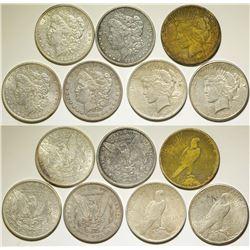 Seven Silver Dollars