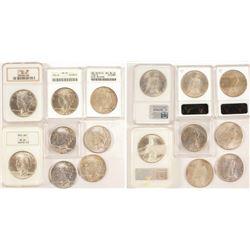 1924 Peace Dollars