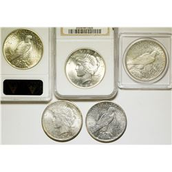 1925 Peace Dollars