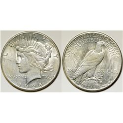 Gem Peace Dollar 1928-S