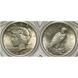 1934 Peace Dollar