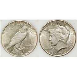 1934-S Peace Dollar, Uncirculated