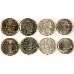 Three Error Quarters and a Nickel