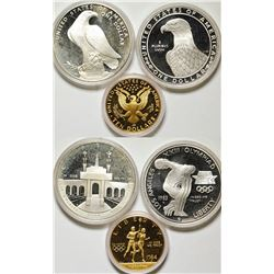 Olympic 1983-4 Multiple Coin Proof Set