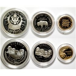 Mt. Rushmore Golden Anniversary Coins