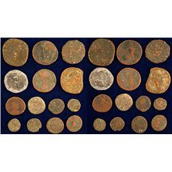 Roman Era Coins From Spanish Treasure!