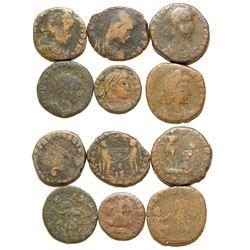 Six Ancient Coins