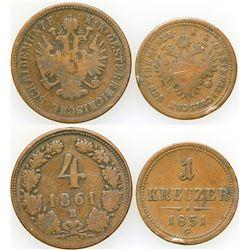 Two Austrian Coins