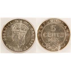 Newfoundland 5 cent piece