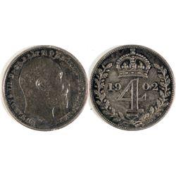 1902 English 4 Pence