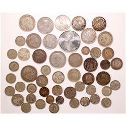 Silver coins of Western Europe