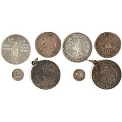 Silver Pieces from Mexico