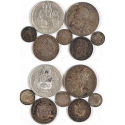 Coins of Venezuela, Panama, Peru