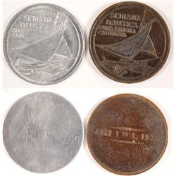 Two Semana Nautica Medals