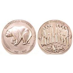 California Bicentennial Medal