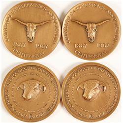 Colorado Cattlemen's Association Centennial Medals