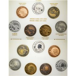 Alaska-Hawaii Statehood Medals