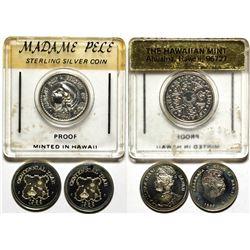 Hawaii Proof Commemorative Coins