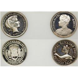 Hawaii Silver Medals