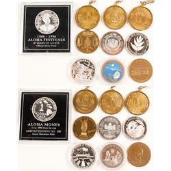 Modern Hawaii medal lot