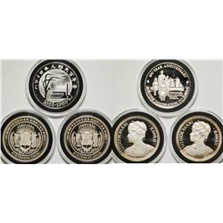 Silver Proof Hawaii Medals