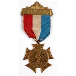Souvenir Carnival Medal from Butte, Montana