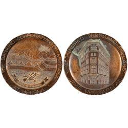Bronze Medal from Helena, Montana