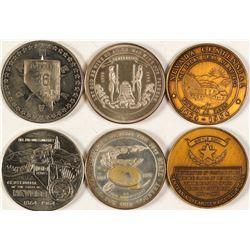 Three Nevada Medals