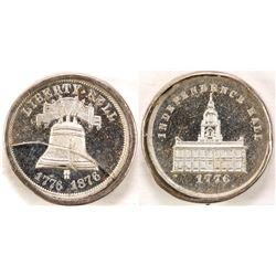 US Centennial Exposition Medal