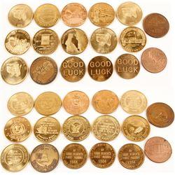 17 Numismatic Medals