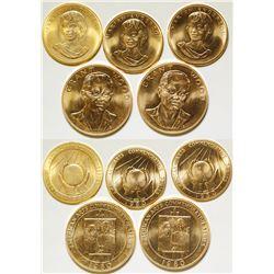 American Arts Gold Medallions