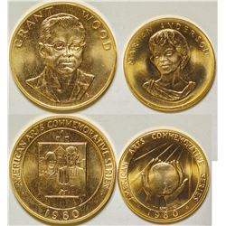 Marian Anderson/Grant Wood Gold Medallions