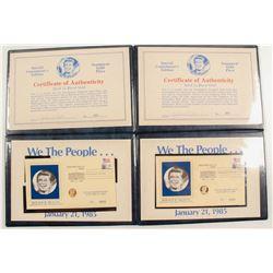 Reagan Inauguration Gold Medals