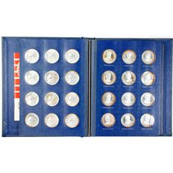 Franklin Mint 1969 President Series Silver Coins