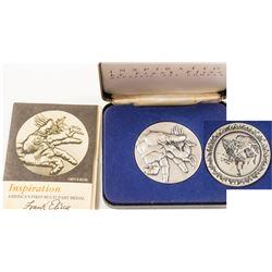 Medal of Inspiration Silver Medal, 3.4 oz