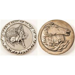 Silver Medallic Art Medal