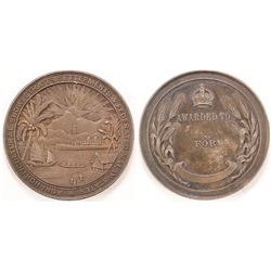 Straits Settlements & Federated Malay States Show Medal