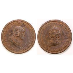 Lorraine, Theobald I., Herzog von Lothringen Bronze Medal