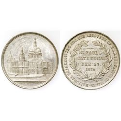 St Paul's Cathedral Silver Medal