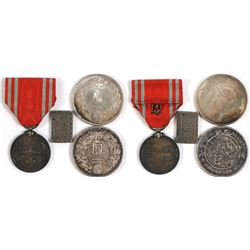 Japanese Medal and Currency